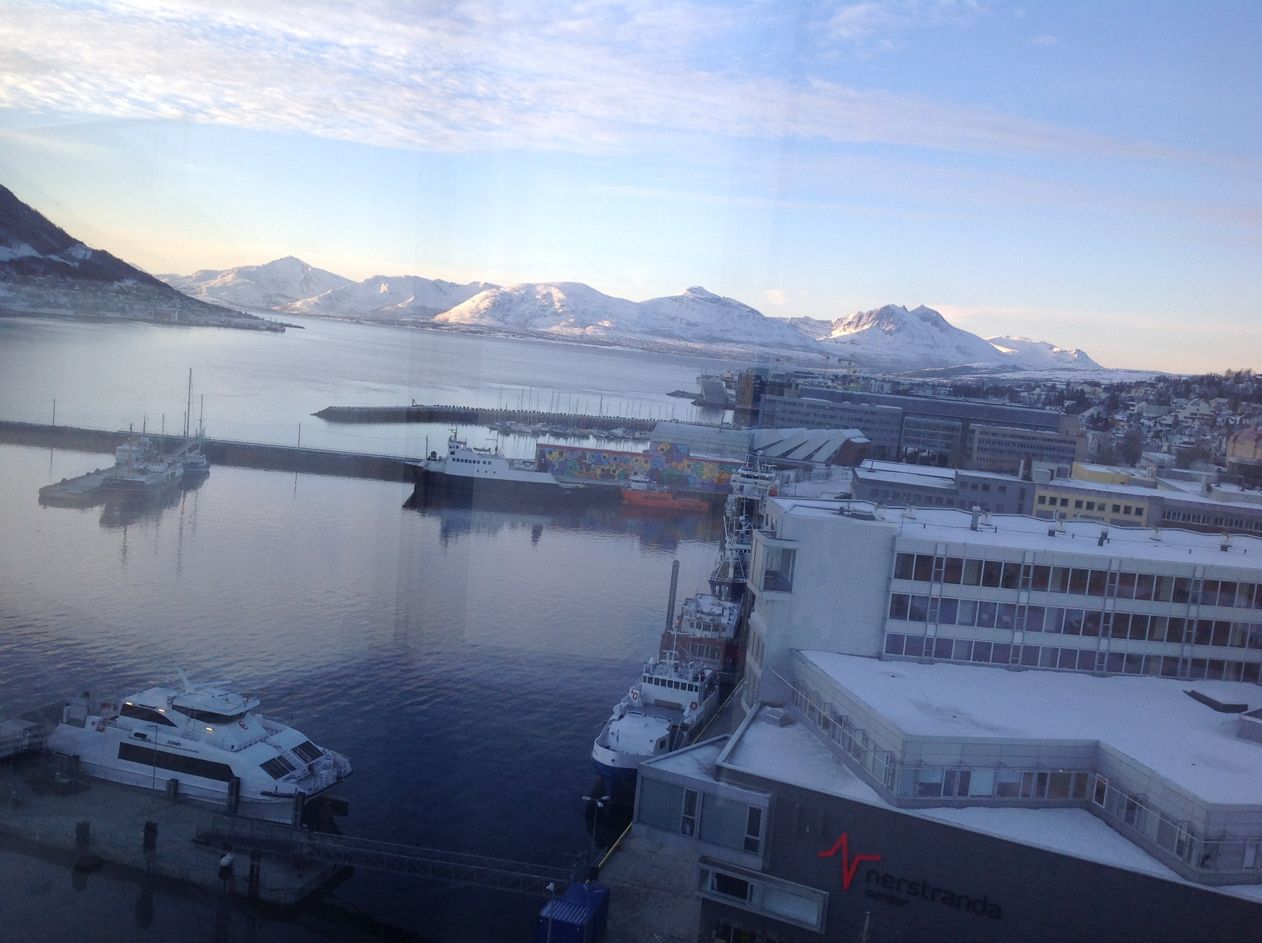 Город за полярным кругом, Trømsø,, Norway